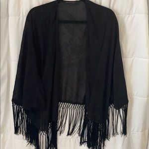 Other - Fringed detail cardigan